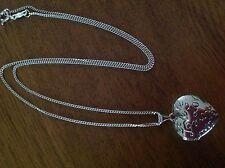 Necklace. Silver. Love heart locket. Locket. Silver Necklace. Pendant. ❤️