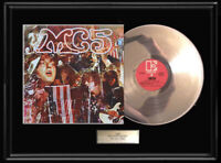 MC5 KICK OUT THE JAMS LP WHITE GOLD SILVER PLATINUM TONE RECORD VINY NON RIAA