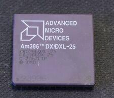 80386 CPU Processor - AMD Am386DX/DXL-25 - TESTED