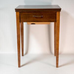 Vintage 1961 Singer Sewing Machine Cabinet 503A 401 201 66 15-91 Table Desk