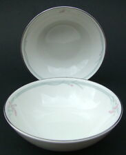 TWO Royal Doulton Carnation H5084 1st Quality Fruit  Dessert Bowls 13cm - in VGC