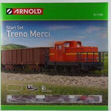 Arnold HN 1005 Treno Merci Start Set Spur N neu OVP DHG 700