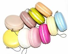 Super Soft JUMBO (8CM) Macaroon Squishy Phone Charm Multi-color For 1PC Yummy