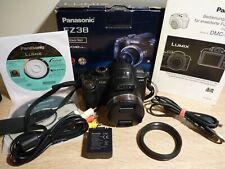 Panasonic LUMIX DMC-FZ38 - 12.1MP -18x Optischer ZOOM - HD Video-Komplett in OVP