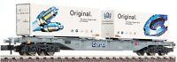 FLEISCHMANN N 825205 Containerwagen SBB Epoche 6  NEU&OVP