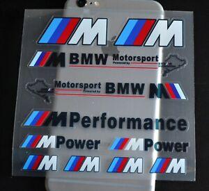M Power Performance Decoration Vinyl Car Body Door Handle Protector Sticker BMW