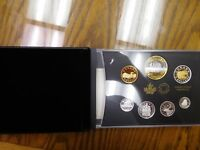 Canada 2016 7 Coin Double Dollar Silver Proof Set Transatlantic Cable 150th Anni
