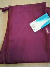 Scrub Pants Womens Sz Med  Flair Maroon *New With Tags*
