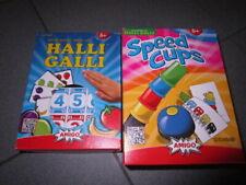 2 tolle Kinder Spiele Halli Galli Auf die Glocke fertig los & Speed Cups Amigo