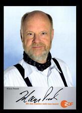 Klaus Peeck wege zum Glück Autogrammkarte Original Signiert # BC 102855