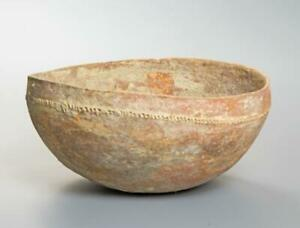 Early Bronze Age Holy Land Decorated Bowl: Circa 3000 BC.
