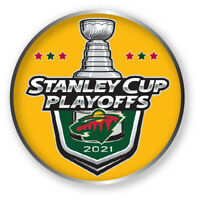 MINNESOTA WILD PLAYOFFS PIN 2020 - 2021 NHL STANLEY CUP FINALS? HOCKEY SHIPS NOW
