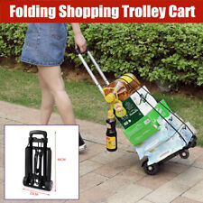 Multipurpose Folding Shopping Trolley Cart Foldable Roller Freight Hand Luggage