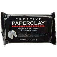 Creative PAPERCLAY Paper Clay 16 oz White Modeling Air Dry Lightweight Durable