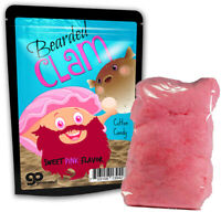 Bearded Clam Cotton Candy, Funny Novelty Candy Gift for Best Friends, Sweet Pink