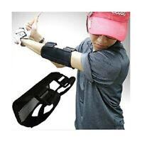 Golf Swing Game Training, Straight Practice Elbow Brace Corrector Support Vented