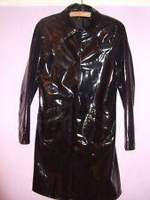 Dorothy Perkins brevet Shiny PVC Vinyle Plastic PU Rain Mac Coat Jacket Raincoat