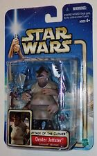 Star Wars Saga Attack of the Clones Coruscant Informant Dexter Jettster MOSC #16