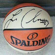 AUTHENTIC AUTOGRAPHED WNBA LICENSED BASKETBALL LAYSHIA CLARENDON SUN / LIBERTY