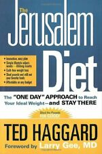 JERUSALEM DIET by HAGGARD TED Hardback Book The Cheap Fast Free Post