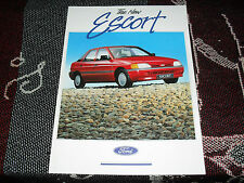 THE NEW FORD ESCORT SALES BROCHURE - SEPTEMBER 1990