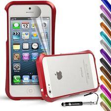 For Apple iPhone SE 5 5S Case Premium Blade Deff Cleave Design Metal Bumper