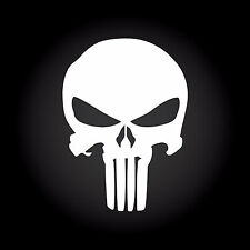 The Punisher Auto Aufkleber Sticker Decal JDM OEM Totenkopf Skull 10,0 x 13,9 cm