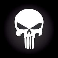 The Punisher Auto Aufkleber Sticker Decal JDM OEM Totenkopf Skull 10,0 x 13,9 cm