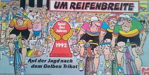 Um Reifenbreite Spiel des Jahres 1992 Gesellschaftspiel Rennradspiel Jumbo