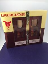 Dana English Leather Cologne & After Shave Gift Set 1.7 fl. oz. Brand New