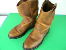 Used Men's Wolverine Size 9 1/2 M Brown 10 inch Boots