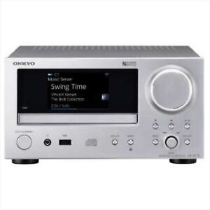 ONKYO CR-N775(S) Network CD Receiver Hi-Res Silver EMS w/ Tracking NEW