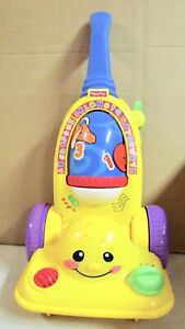 FISHER  PRICE LAUGH  &  LEARN  VACUUM  (H)