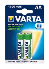 "2 x Varta T399 Phone Power Mignon AA Akku 1,2V ""NEU"""