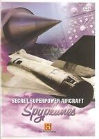 SECRET SUPERPOWER AIRCRAFT SPYPLANES DVD