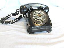 Stromberg Carlson Vintage Dial Phone Bakelite Handset Working Tested No Ringer 1