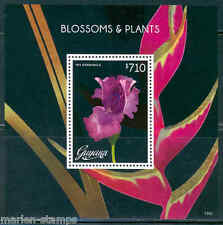 GUYANA BLOSSOMS & PLANTS IRIS SOUVENIR SHEET MINT NH