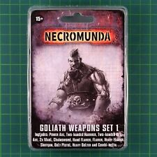 Golia Weapons Set 1 Necromunda underhive Forge World 11225