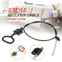 D-Style Recliner Handle Lever Replacement Trigger Cable Sofa Release Chair Couch