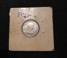 1953 Six Pence,
