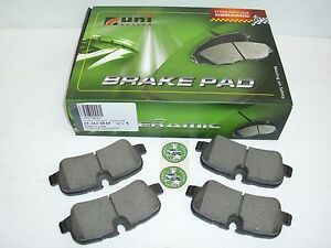LAND ROVER DISCOVERY 3, RANGE ROVER SPORT & RANGE ROVER L322 REAR BRAKE PADS SET