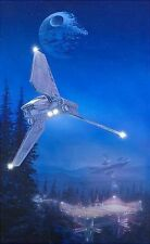 """Star Wars """"Imperial Forest"""" by William Silvers #1/200 Giclee on Paper Framed"""