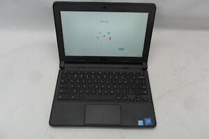 """Dell Chromebook 11 11.6"""" 2.16GHz Celeron-N2840 4GB RAM 2GB eMMC ChromeOS Grade C"""