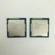 2pcs Intel Xeon E3-1230 V2 3.3GHz Quad-Core SR0P4 5.0GT/s LGA1155 CPU Processor