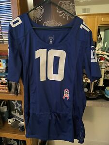 NWT Nike Eli Manning New York Giants Jersey Womens Breast Cancer Awareness XL