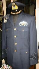 VINTAGE GREEK HELLENIC AIR-FORCE SUPREME PILOT OFFICER UNIFORM FROM EARLY 80s