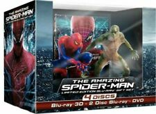 The Amazing Spider-Man (Blu-ray 3D+2D & DVD) NEW OOP Limited Edition Gift Set