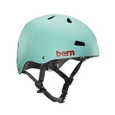 Bern Team Macon Cycling Helmet (Matte Turquisel / Medium Size)