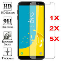 TEMPERED GLASS FILM SCREEN PROTECTOR FOR SAMSUNG GALAXY J8 J7 J4 J6 + A6 A8 2018