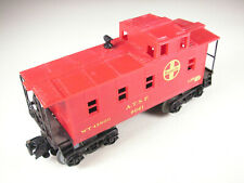 Lionel MPC 9061 Santa Fe caboose, NOS, 3 wheels crusty, dusty